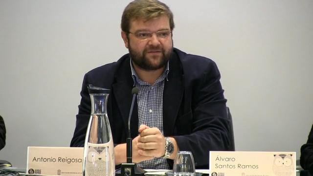 Inauguración. Álvaro Santos Ramos, deputado