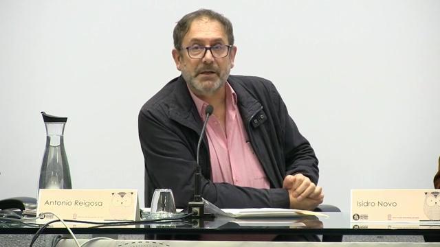 Presentación da conferencia de Isidro Novo