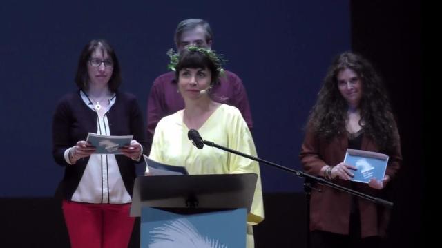 Presentación do terceiro grupo de premios