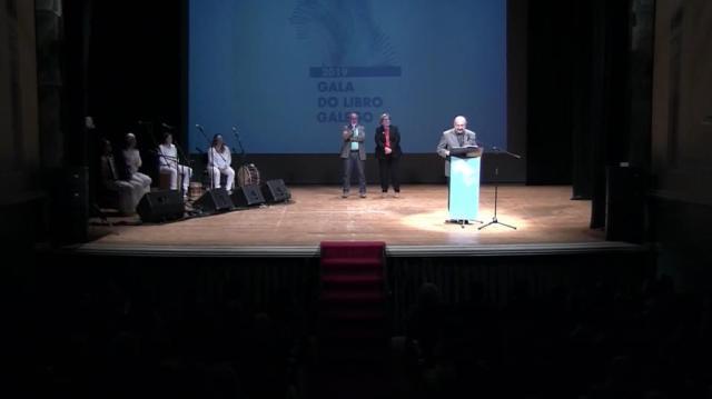 Discurso do presidente da Asociación de Escritoras e Escritores en Lingua Galega en nome das tres entidades convocantes